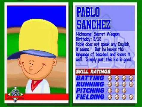 backyard baseball pablo sanchez hqdefault jpg