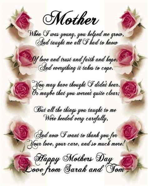 s day poems mothers day poems 2017 happy mothers