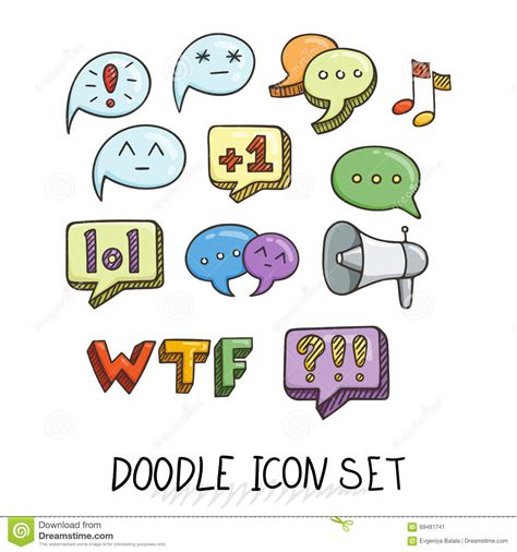 how to use doodle to set up a meeting set of universal doodle icons bright colors and variety