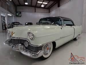 1954 Cadillac Series 62 1954 Cadillac Series 62 Coupe Original Owner S Manual