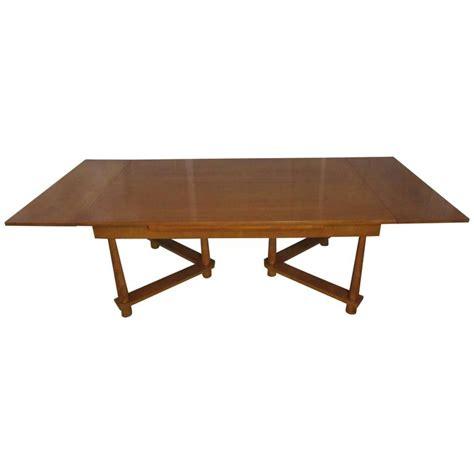 Robsjohn Gibbings Dining Table Extension Dining Table By T H Robsjohn Gibbings For Widdicomb 1950 For Sale At 1stdibs