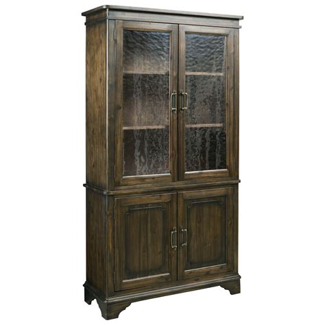 seeded glass for cabinets kincaid furniture wildfire 86 080p vintage china cabinet