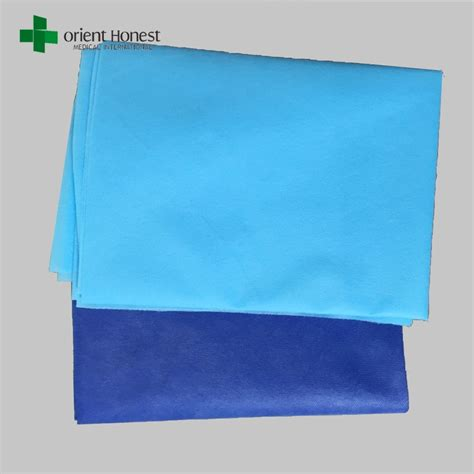 rubber sheets for bed soft non woven bed sheet cover hygiene bed sheet with