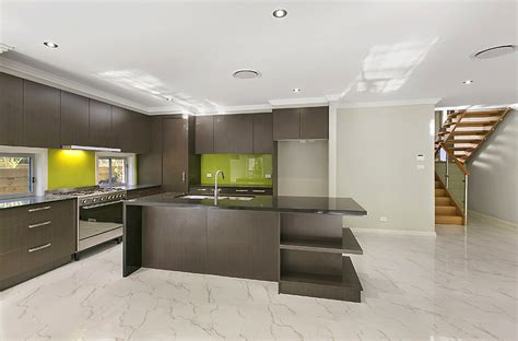 miami custom galley style kitchen