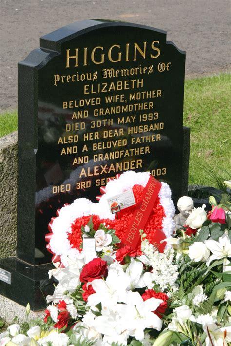 at grave alex higgins s grave lisburn