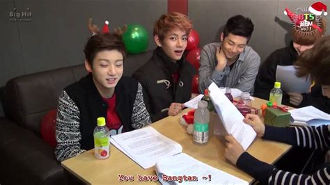 bts zombie eng sub eng sub bts 꿀 fm 06 13 the very happy christmas with