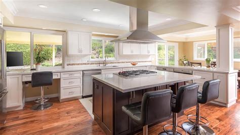 kitchen design san diego open versus closed kitchen remodel