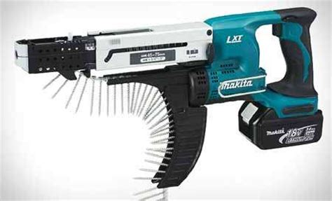 Bor Cordles Makita alat bor baut makita bfr750 lxt cordless autofeed screwdriver