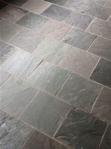 Slate Tile Floor Cleaning & Sealing Birmingham   Tile