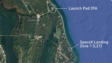 launch maps news spacex s to launch from historic space site saturday the weather network