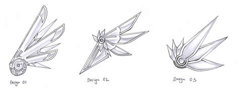 mechanical wings design by aesthetica on deviantart