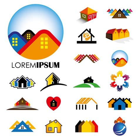 house logo design free house logo design vector free download