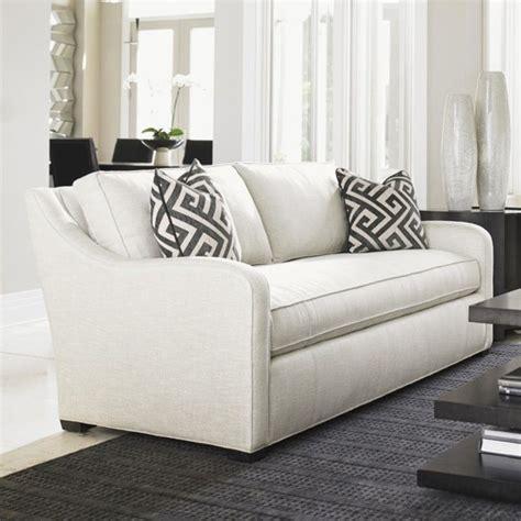 fontana couch lexington carrera fontana fabric sofa in white 7741 33 61