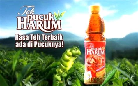 Teh Pucuk Harum words change the world teknik iklan