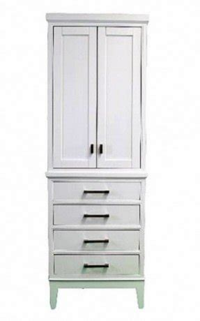 White Linen Tower Bathroom by Bathroom Linen Tower Cabinet Foter