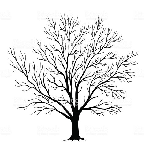 trees silhouettes stock illustration image of color 43384093 the gallery for gt winter tree silhouette craft
