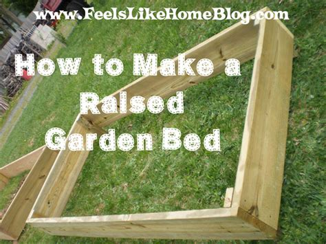 build a raised bed garden laurensthoughts