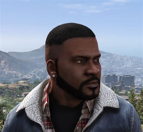 hairstyles and beards gta v improved franklin gta5 mods com
