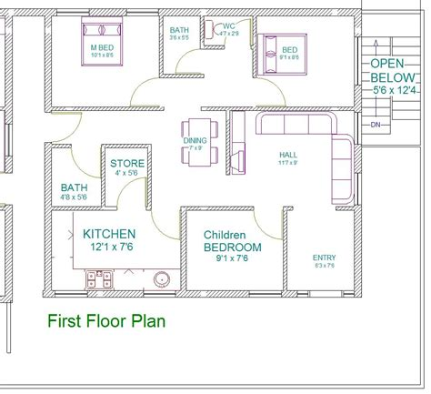 house plan for south facing plot with two bedrooms vastu for south facing house plan distinctive kulkarni