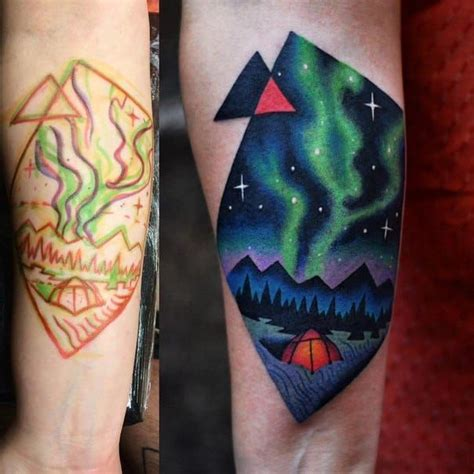 aurora tattoo borealis david cote ideas