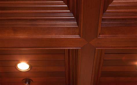 soffitti in legno a cassettoni soffitti cassettoni falegnameria