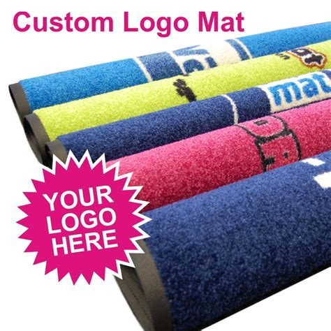 Custom Logo Floor Mats For Business by Custom Logo Mat From The Mat Factory