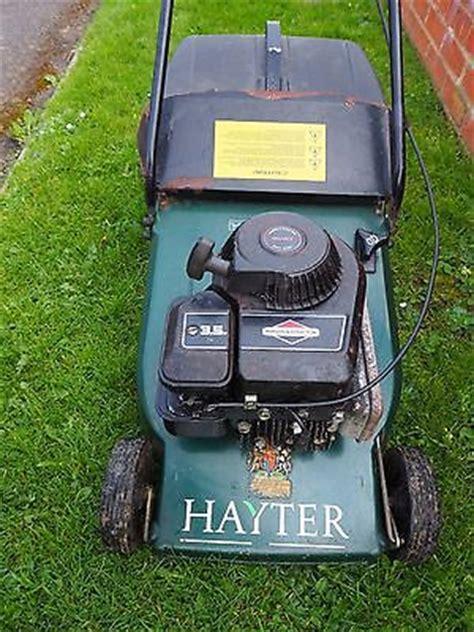 Hayter Lawn Mower Hobby 41 Briggs And Stratton Push