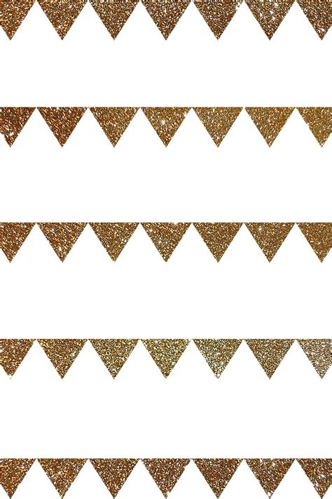pattern lock background gold glitter white bunting triangles pattern iphone