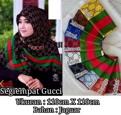 Harga Kerudung Segi Empat Gucci grosir segiempat gucci model terbaru terlengkap jual