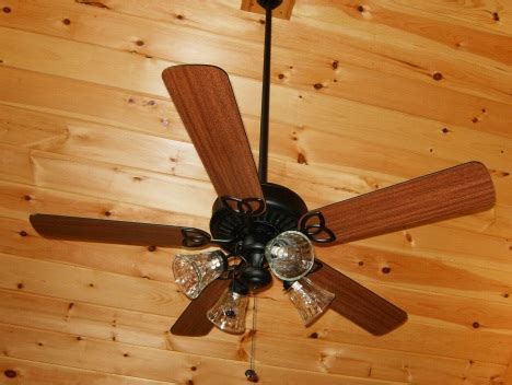 Ceiling Fan Guidelines by Ceiling Fans For Log Homes