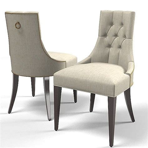 baker dining chair 3d model baker dining chair 7841