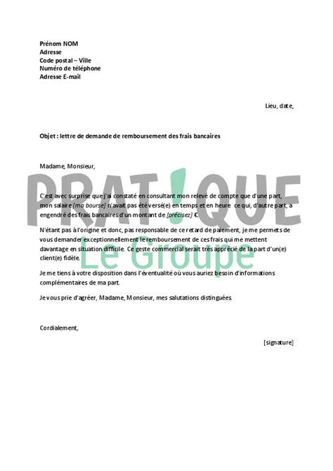 Exemple De Lettre Gracieuse modele lettre a votre banque pour demander une remise