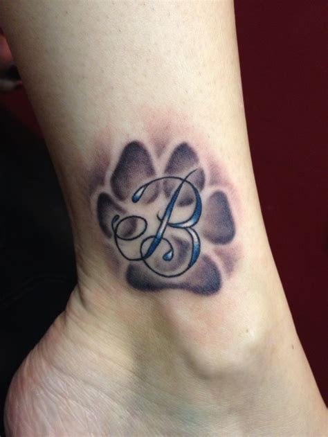 infinity paw print tattoo 1000 ideas about paw print tattoos on print