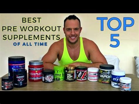 best pre workout top 5 best pre workout supplements
