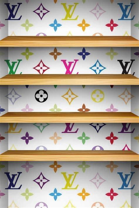 wallpaper girly shelves louis vuitton background for iphone 4 4s wall paper for