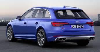 Audi A4 B9 Release Date B9 Audi S4 Avant Revealed 354 Hp 500 Nm Estate