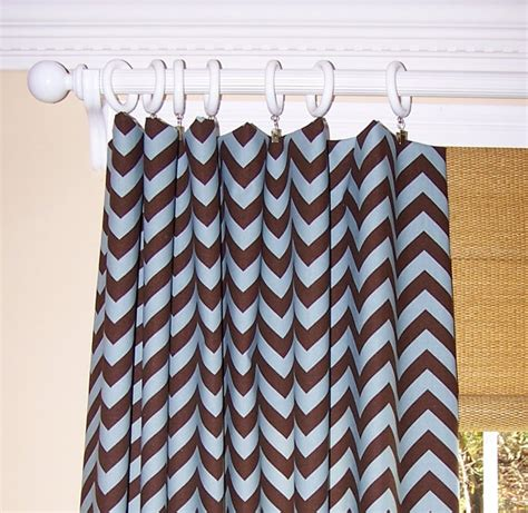 brown and white chevron curtains unavailable listing on etsy