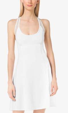 Dress Import 989 mesh paneled dress