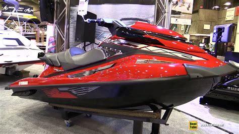 motor boat vs jet ski 2015 yamaha vxr waverunner jet ski walkaround 2015