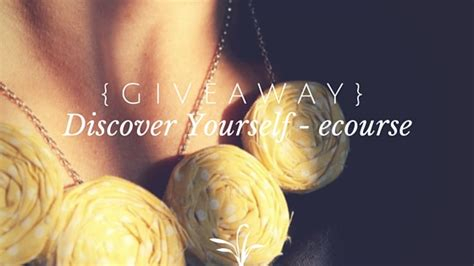 Discover South Africa Giveaway - discover yourself an online ecourse
