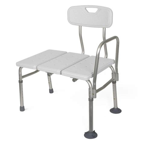 transfer bench unpadded transfer bench medline g98308aunpadded