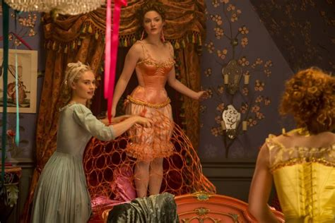 cinderella film how long cinderella s corset controversy or why everyone should