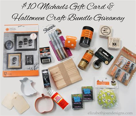 Michaels Craft Store Gift Card - 10 michaels gift card halloween craft bundle giveaway