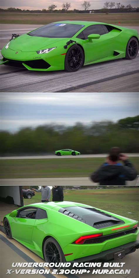 How Many Horsepower Does A Lamborghini 2300 Horsepower Lamborghini Huracan Is Fastest In The