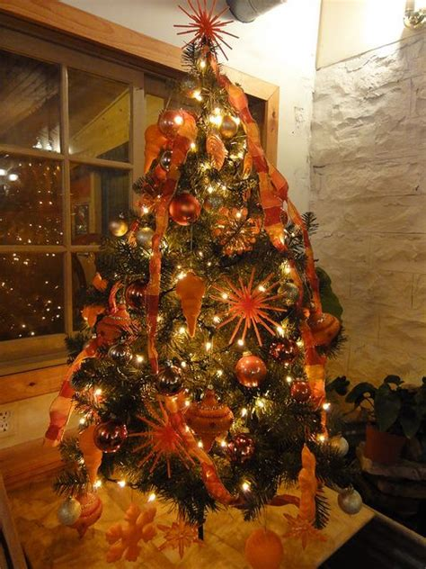 black tree with orange lights black tree with orange lights ideas