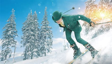 Mr Green mr green s guide to skiing etiquette mr green