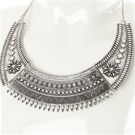 Oxidised Silver Collier P 184 38 best collier plastron images on my style bib necklaces and ethnic jewelry