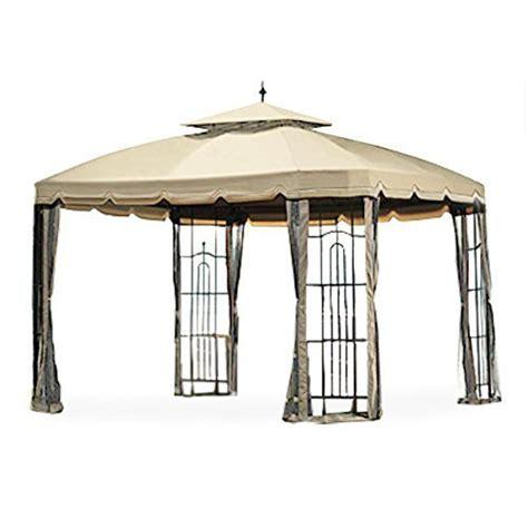 bay window gazebo replacement canopy and netting riplock