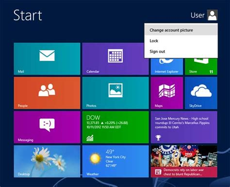 how to change your look how to change your account picture in windows 8