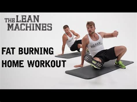 burning home workout